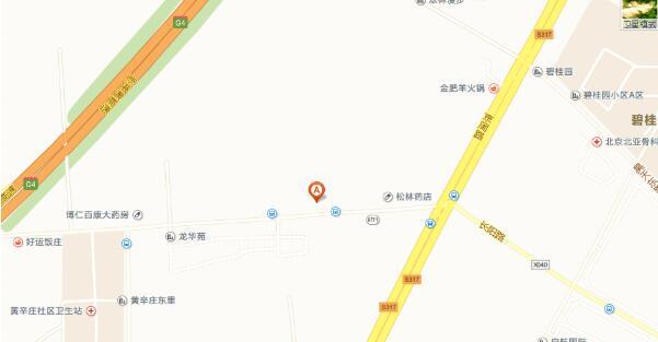 北京园林学校地址地图